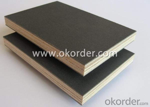 Full Hardwood Core Black Film Faced Plywood