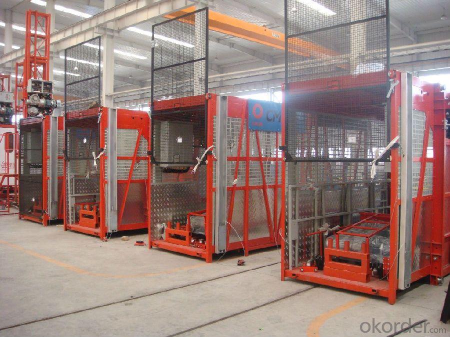 Building Hoist Single Cage/Double cage (Model:SC(D)200, SC(D)200/200)
