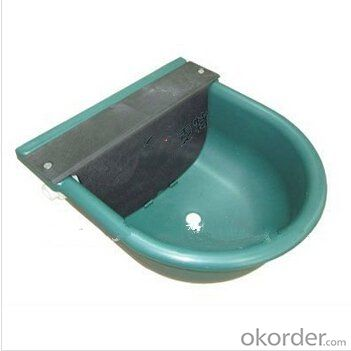 Plastic Water Bowl with Float for Cattle