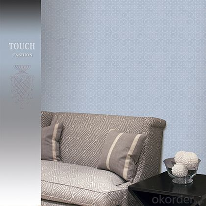 PVC Wallpaper Modern Flower PVC Wallpapers for Living Room