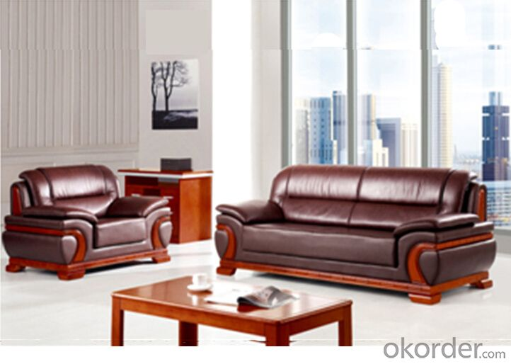 Office Furniture Leather Sofa with Elegant Design