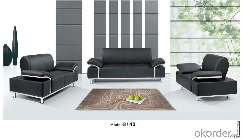 Offce Sofa/Waiting Chair Leather/Pu CMAX-GB8142