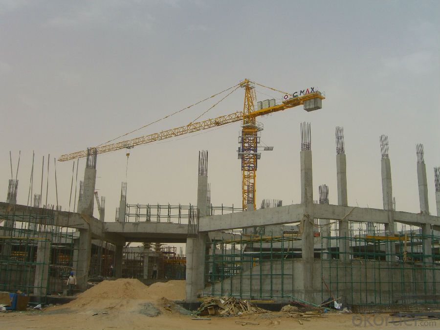 Max Loading Capacity 8T Tower crane TC6014