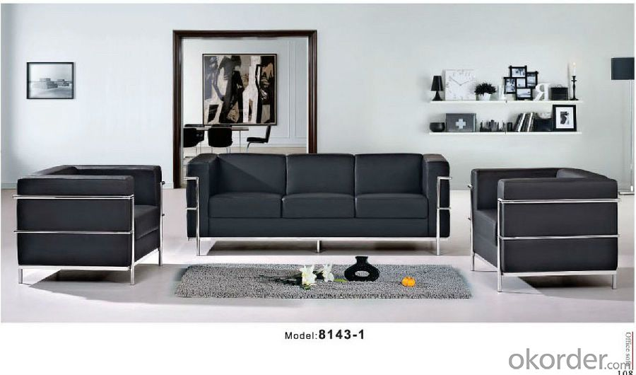 Offce Sofa/Waiting Chair Leather/Pu CMAX-GB8106
