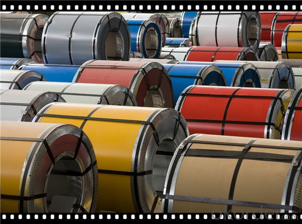 PPGI Prepanited Galvanized Steel Coil Color Coated Steel Coil CNBM