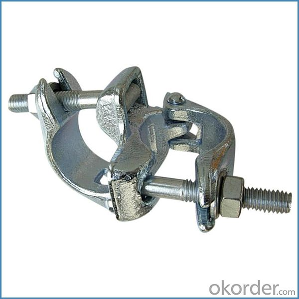 Scaffold Drop Forged Double Coupler British Type for Sale