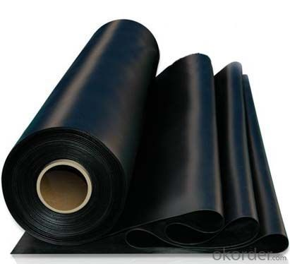Black EPDM Waterproof Rubber Membrane for Roof Basement Pond Liner