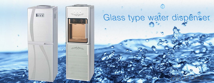 Glass type water dispenser                HD-901