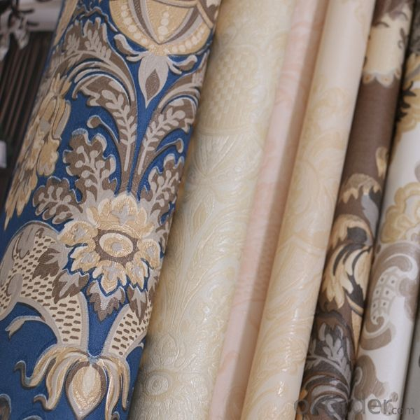 PVC Wallpaper 2015 Interior Wall Panels Decorative Plastic Wallpaper ITALUXU PVC 53cm