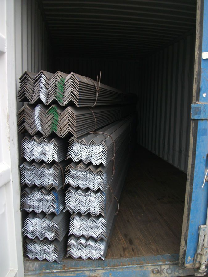 Specifications of GB Q235 Equal Angle Steel or  Uneual angle