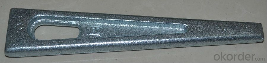 Formwork Parts Pin by Casting with Different Surface treatment