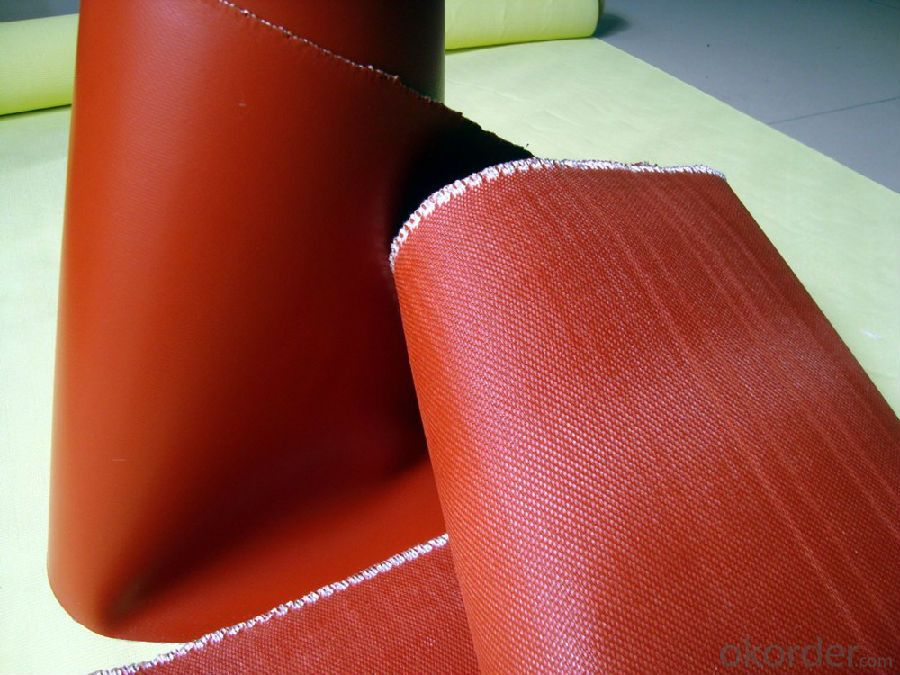 Fiberglass Fabric with Silicone Coated 130gsm