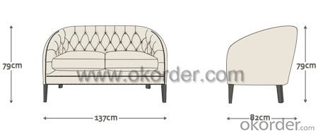 Mayfair Sofa with Top Grain Leather or Spilt Leather