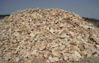 85% Rotary/ Shaft/ Round Kiln  Alumina Calcined Bauxite Refractory Raw Material