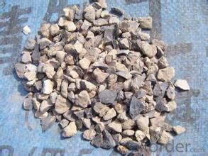 89% Rotary/ Shaft/ Round Kiln  Alumina Calcined Bauxite Refractory Raw Material