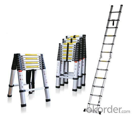 Aluminum Telescopic Ladder,High Quality and Portable