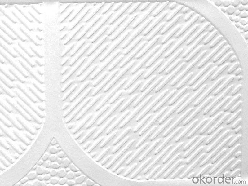 Plastic PVC Gypsum Ceiling  Decorative Sheet