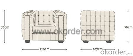 Westminster Chesterfield Sofa with Handmade Backrest