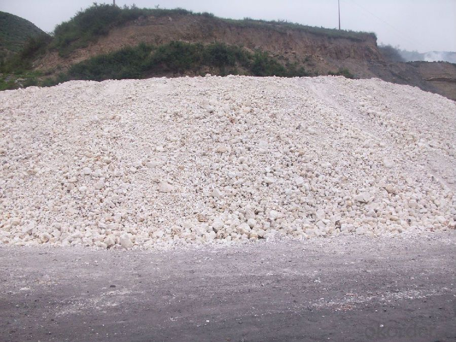 76% Rotary/ Shaft/ Round Kiln Alumina Calcined Bauxite Raw Material for Refractory