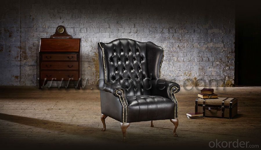 Stirling Chesterfield Chair with Hand Studded Front Facings