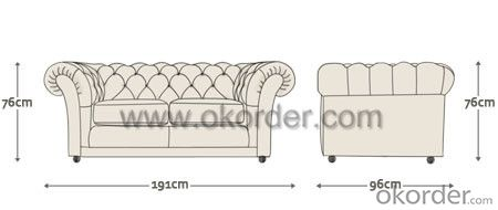 Churchill Sofa With Two Seats or Three Seats