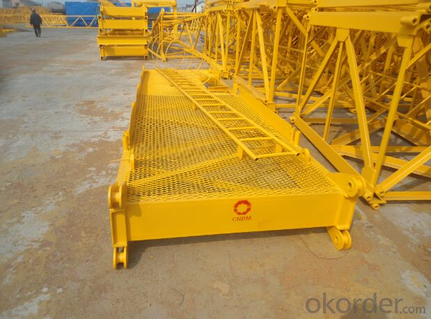 TOWER CRANE QTZ400 Q7050 TC7050 high quality 20ton