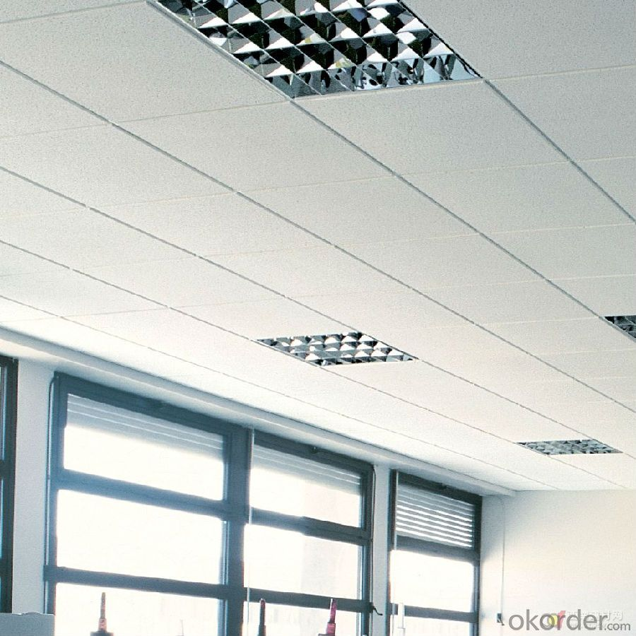 Sound Absorption Low Density Mineral Fiber Ceiling,Ture Sand With Holes