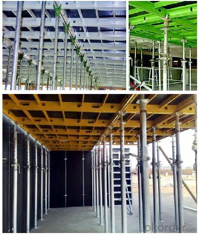 140 Type Aluminum Frame Formwork for High Building