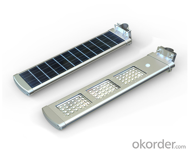 20W LED Solar street Courtyard Light Aluminum alloy case