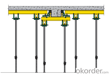 Beam Clamp with Stable and Tight Fixing for Timber Beam Formwork