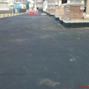 Black Vulcanized EPDM Waterproof Membrane Made from Top Quality Rubber