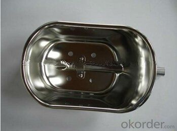 Grand Stainless Drinking Bowl for Pigs with Stainless Valve
