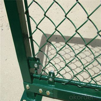 Chain Link Wire Mesh Galvanized PVC Coated Wire Mesh with Good Quality