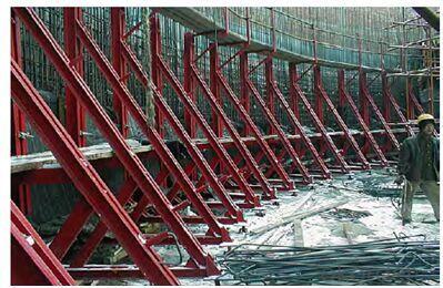 Vertical Structure Support System for Single Side Bracket