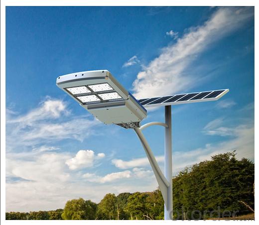 Solar street courtyard light 160W, 17% efficiency