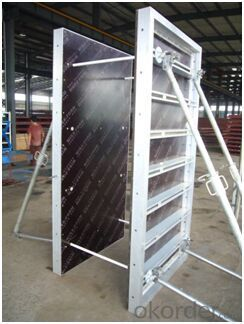 Aluminum Frame Wall Formwork for Wall Construction