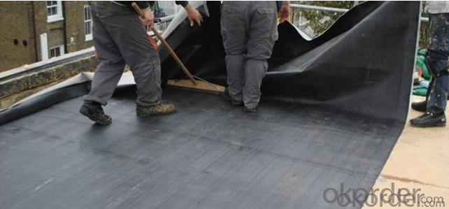 EPDM roof  pond waterproof membrane with SGS ISO