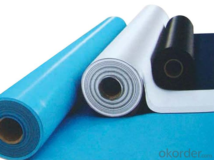 Products Description of Thermoplastic Polyolefin (TPO) waterproof membrane