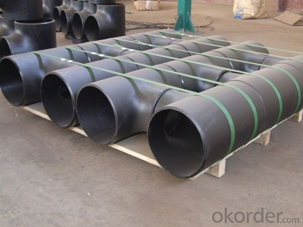 Alloy Steel Pipe Fittings Butt-Welding Reducing Outlet Tees