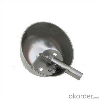 160mm Stainless Waterer for Pigs with Round Shape