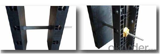 Plastic Concrete Formwork for Column Panel