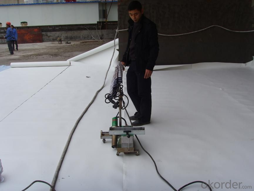 EPDM   Modified  Waterproof  Membrance for Basement