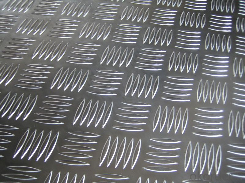 Aluminium Tread Plate Small Five Bar Pattern