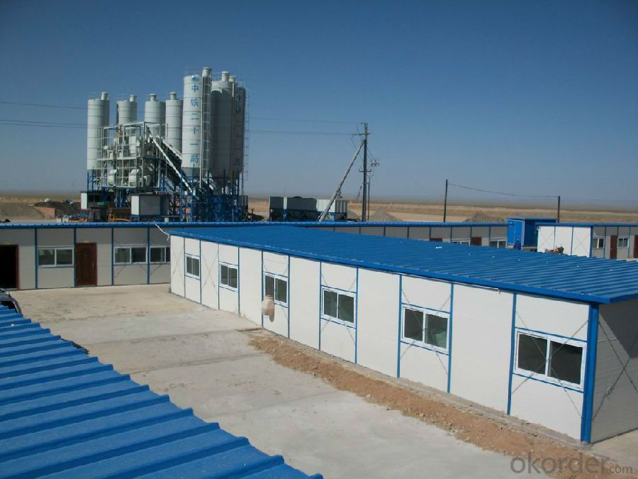 Sandwich Panel House Temporary House Campsite Buildings High Quality and Low Price