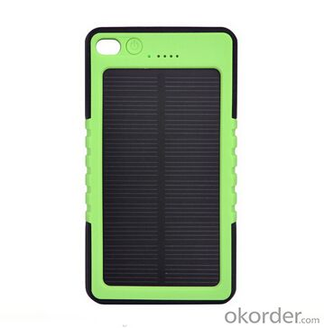 Solar Charger--Portable Mobile Phone For  12000MAh Mobile