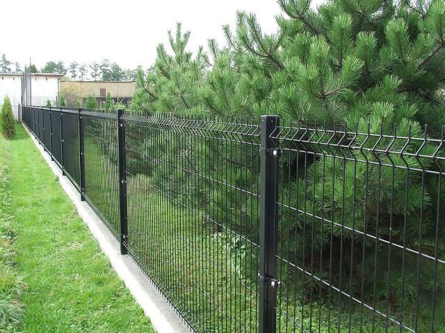 PVC coated Galvanized Wire  Mesh Fencing