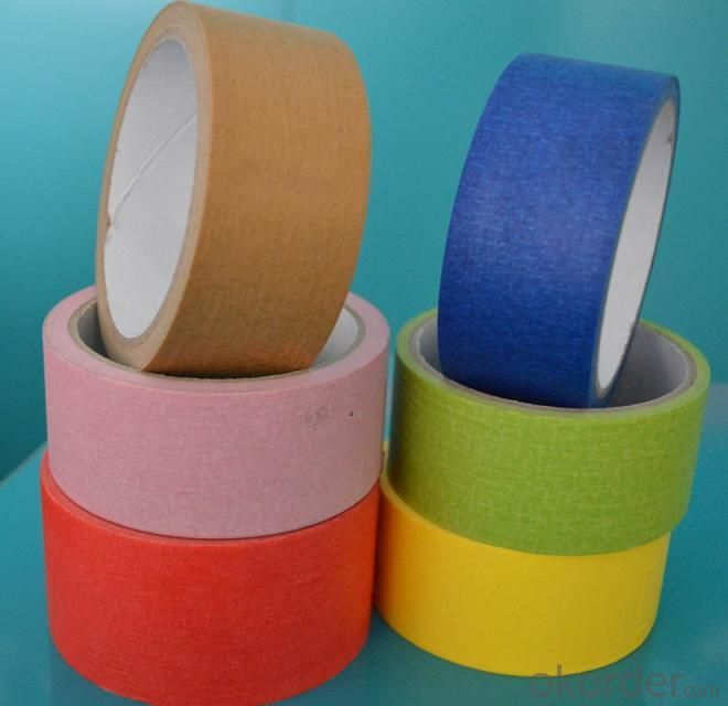 Colorful Beautiful Sel-Adhesive Masking Tape