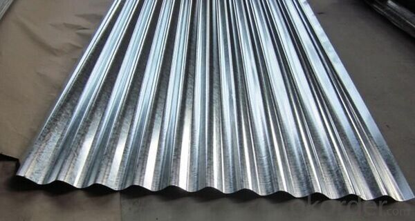 High Tensile Regular Spangle Galvanized Steel for Construction