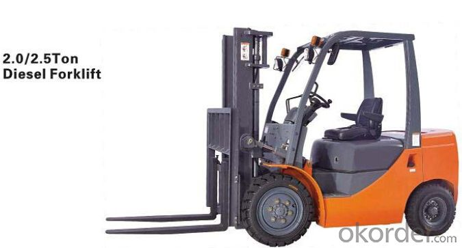 High Efficent Mini 2.0T Forklift Truck with High Quality