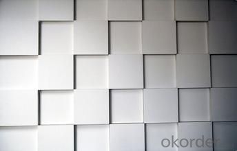 White Square Fiberglass Reinforced Ceiling